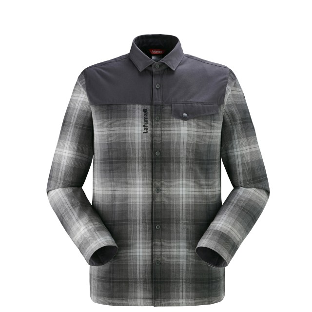 Warm Shirt long sleeves - Men - BLACK ARKHALE WARM SHIRT M Lafuma