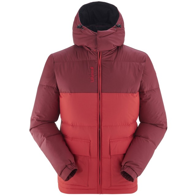 100% recycled down - Downjacket - Men - RED SHIFT DOWN HOODIE M Lafuma