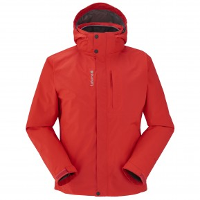 JAIPUR GORE-TEX 3IN1 JACKET Red Lafuma