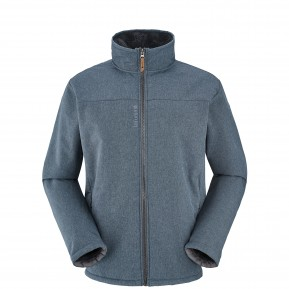 JASPER SOFTSHELL F-ZIP Navy-blue Lafuma