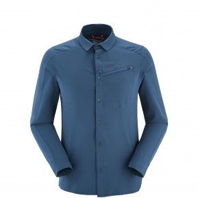 SHIELD SHIRT LS Blue Lafuma