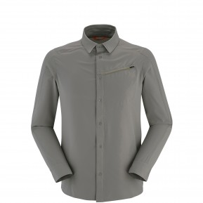 SHIELD SHIRT LS Grey Lafuma