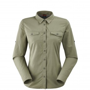 SHIELD SHIRT W KHAKI Lafuma