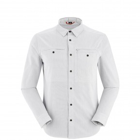 TRAVELLER SHIRT LS Grey Lafuma