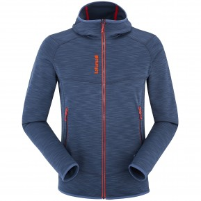 SHIFT HOODIE ZIP-IN Blue Lafuma