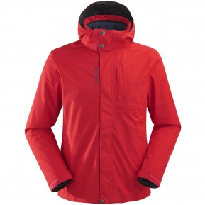 JAIPUR GTX 3in1 FLEECE JKT M Red Lafuma