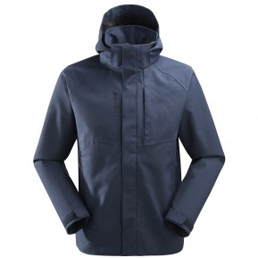 TRACK ZIP-IN JKT M Blue Lafuma