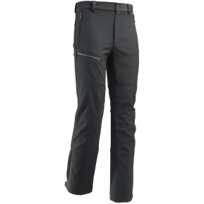 TRACK SOFTSHELL PANTS M Black Lafuma
