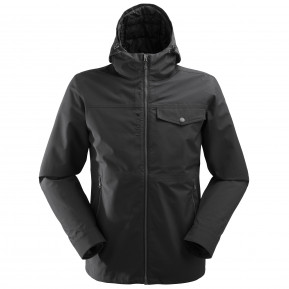 ULSTER 3in1 FLEECE JKT M Black Lafuma