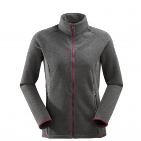 LD TECHFLEECE F-ZIP Black Lafuma