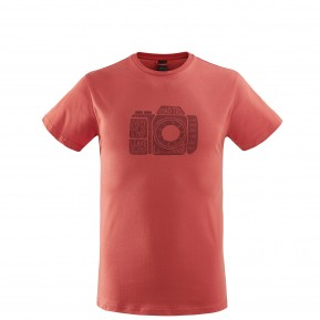 ADVENTURE TEE Red Lafuma