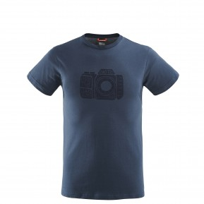 ADVENTURE TEE Navy-blue Lafuma