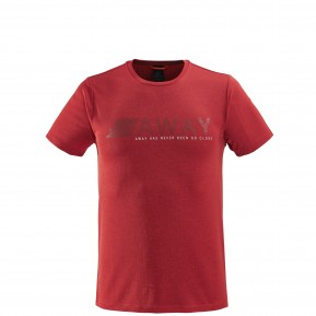 SHIFT TEE Red Lafuma