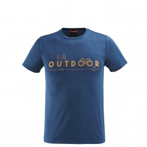 SHIFT TEE Blue Lafuma