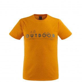 SHIFT TEE Yellow Lafuma