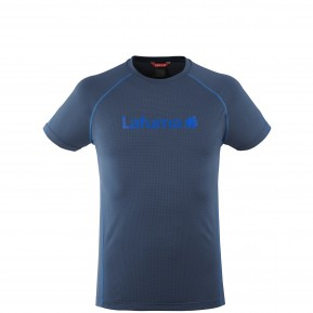 WAY TEE LOGO M BLUE Lafuma