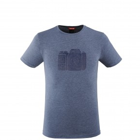 ADVENTURE TEE M BLUE Lafuma