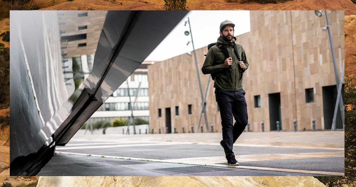 Collection apparel ruck