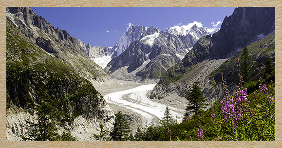 10 years of the Mer de Glace in figures