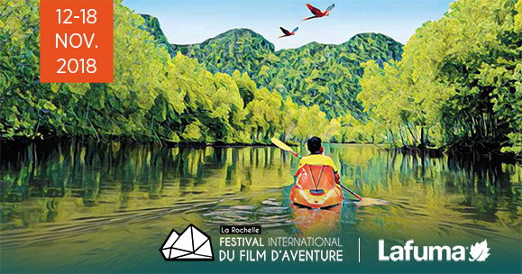 Destination La Rochelle pour le Festival International du Film d'Aventure