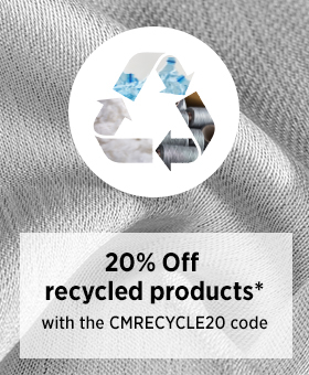 20% off on recycled products