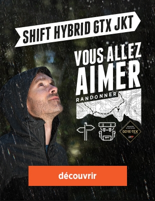 veste shift hybrid gore-tex