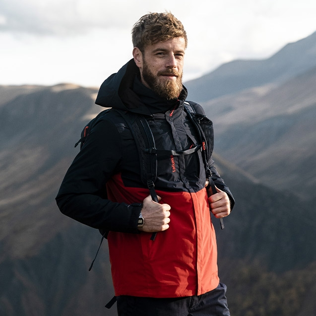 Hiking and trekking product for men