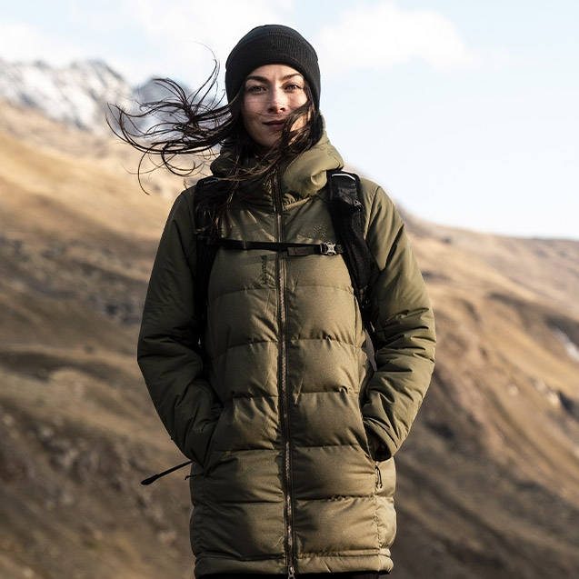 Hiking and trekking product for women
