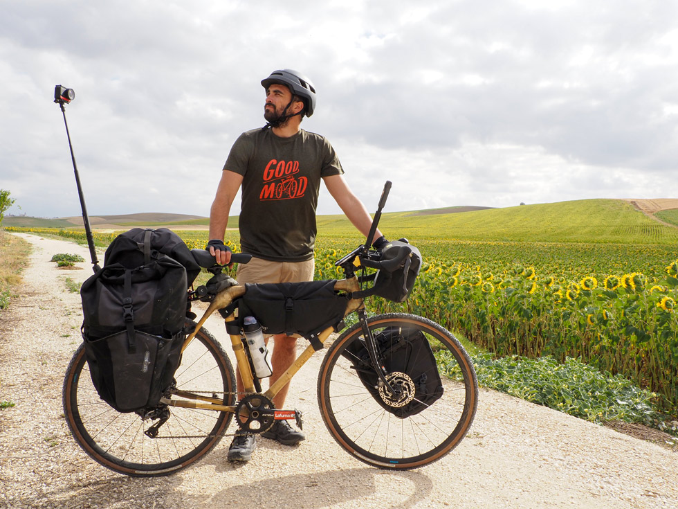 Sergi Unanue - Pedaling for the planet